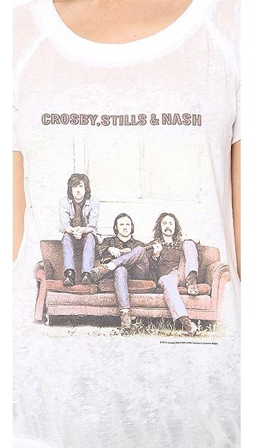 Chaser Crosby Stills & Nash Tee