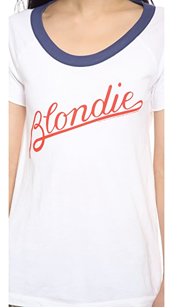 Chaser Blondie Script Tee