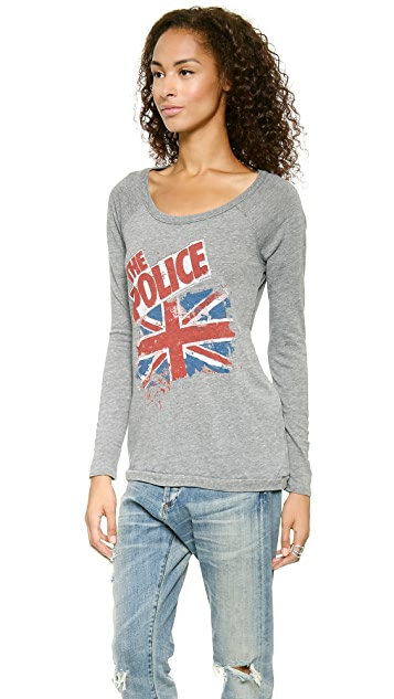 Chaser The Police British Flag Tee