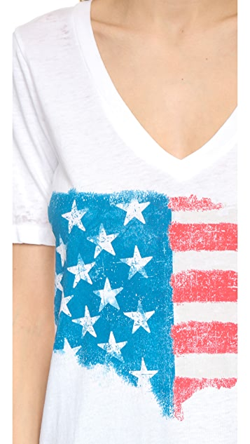 Chaser Painted Flag Chaser Top