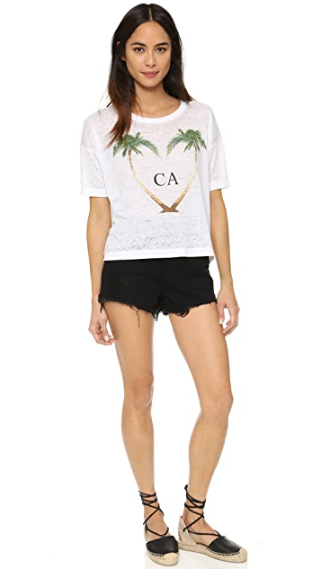 Chaser Heart CA Tee