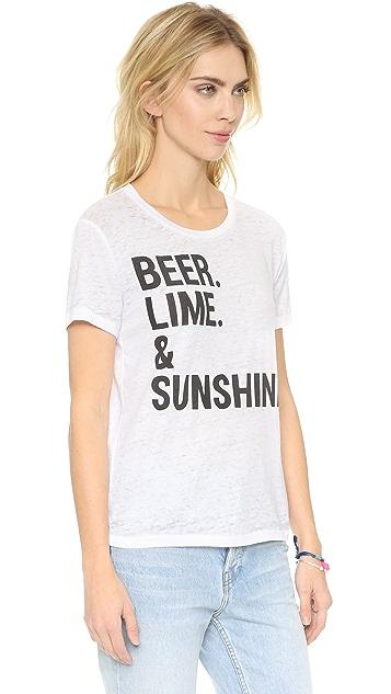 Chaser Beer Lime & Sunshine Tee