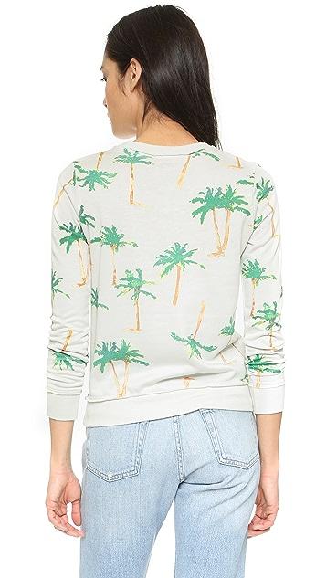 Chaser Palm Tree Breeze Sweatshirt