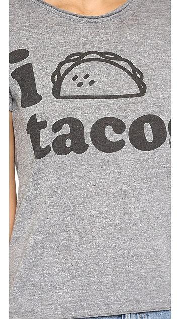 Chaser I Heart Tacos Tee
