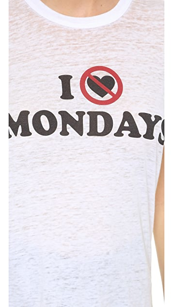 Chaser I Hate Mondays Tank