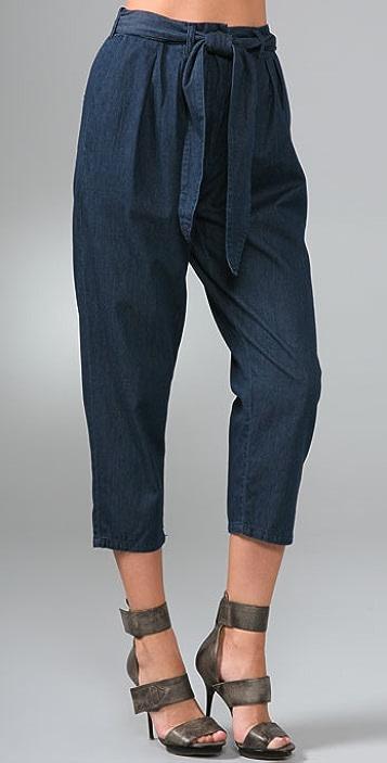 Cheap Monday Twin Chambray Pants