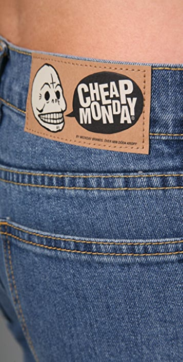 Cheap Monday Tight Cutout Jeans