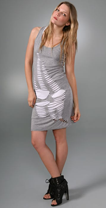 Cheap Monday Snake Cutout Tank Dress