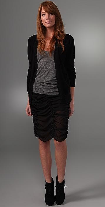 Cheap Monday Ruched Skirt