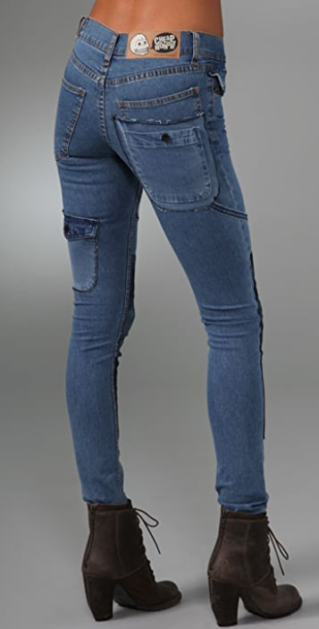 Cheap Monday Worker Tight Skinny Jeans