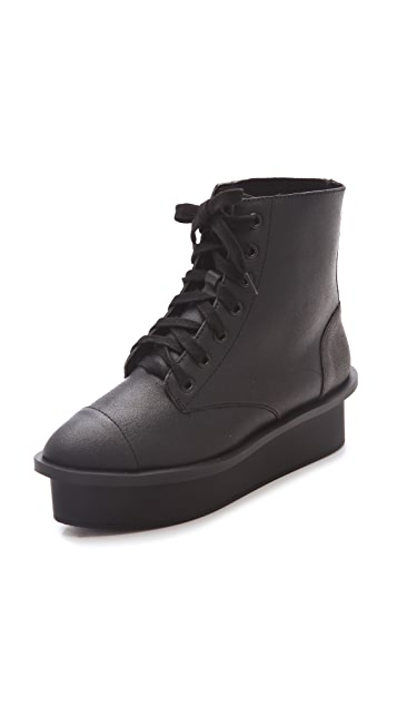 Cheap Monday Form Lace Up Boots