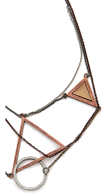 Cheap Monday Geometry Necklace