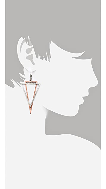 Cheap Monday Geometry Earrings
