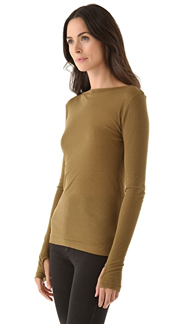 Cheap Monday Feeler Long Sleeve Tee