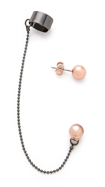 Cheap Monday Orbit Earrings