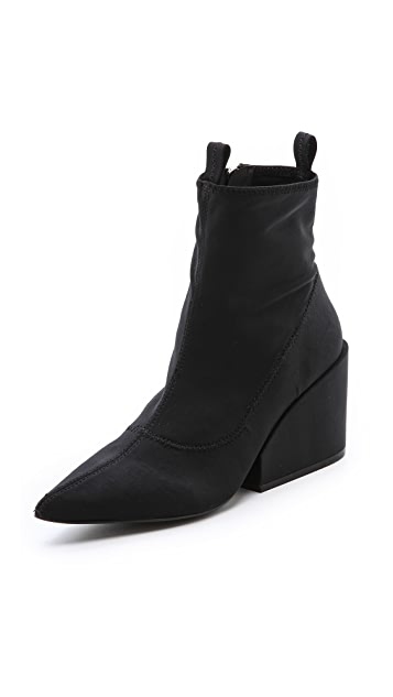 Cheap Monday Cube Pointy Toe Booties