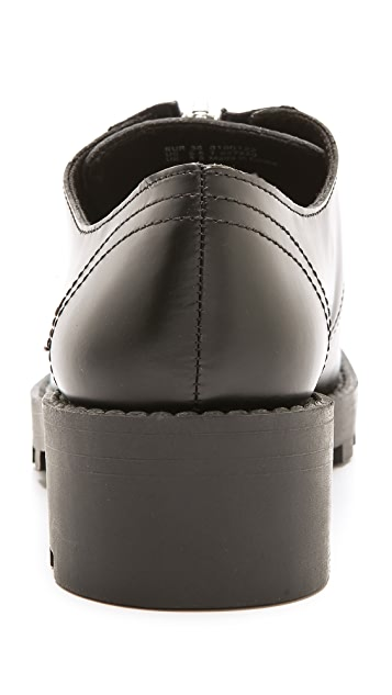 Cheap Monday Go Tractor Zip Loafers