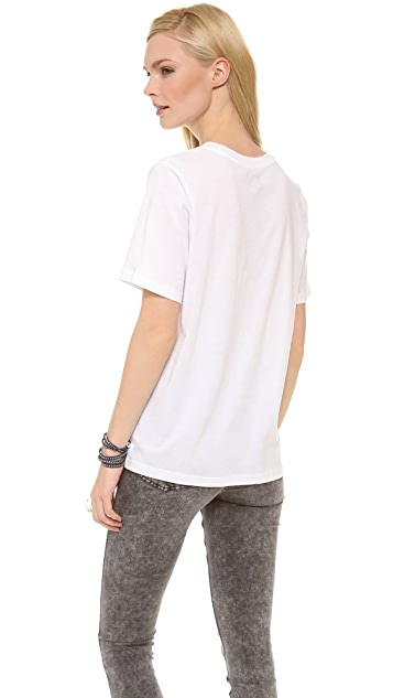Cheap Monday Cheap Spray Perfect Tee