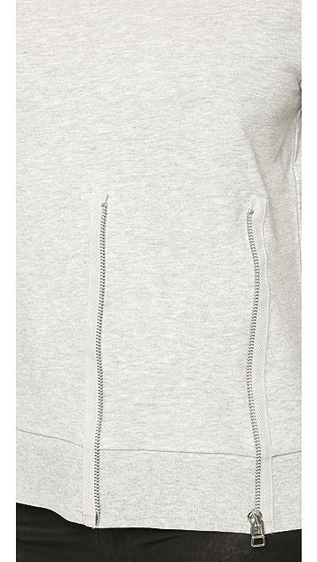 Cheap Monday Blank Zip Sweatshirt