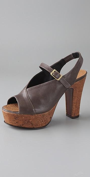 23bf075c94d Chie Mihara Shoes Eunice Cork Platform Sandals