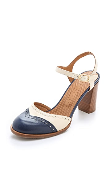 Chie Mihara Shoes Zoma Brogue Sandals