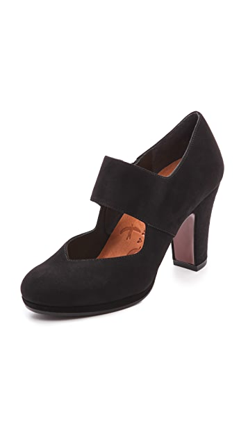 Chie Mihara Shoes Cantos Mary Jane Pumps
