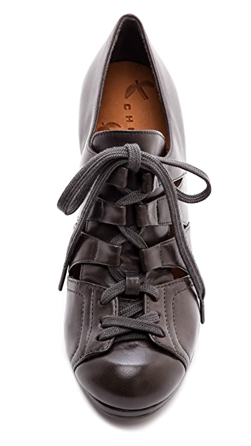 Chie Mihara Shoes Conejo Cutout Booties