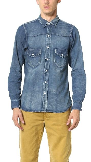 5b7ce6994c Chimala Denim Western Shirt