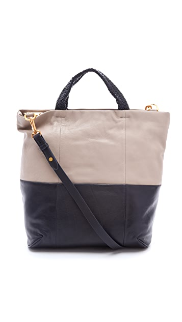 Christopher Kon Jordie Two Tone Tote