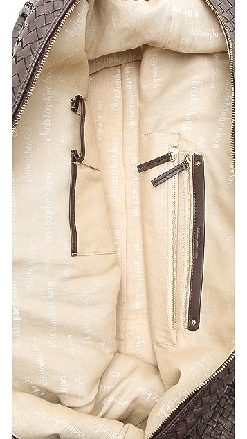 Christopher Kon Woven Overnight Bag