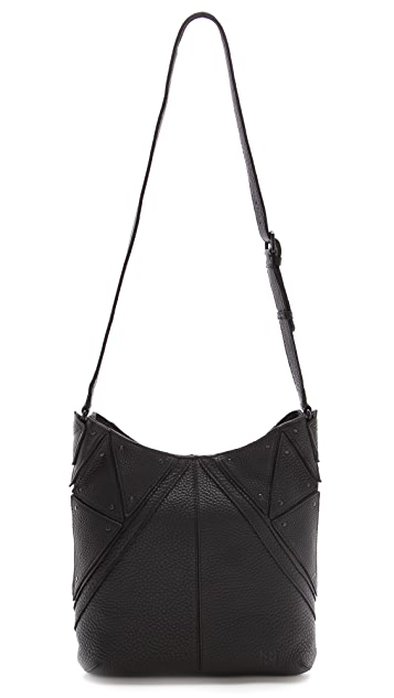 Christopher Kon Double Zip Cross Body Bag
