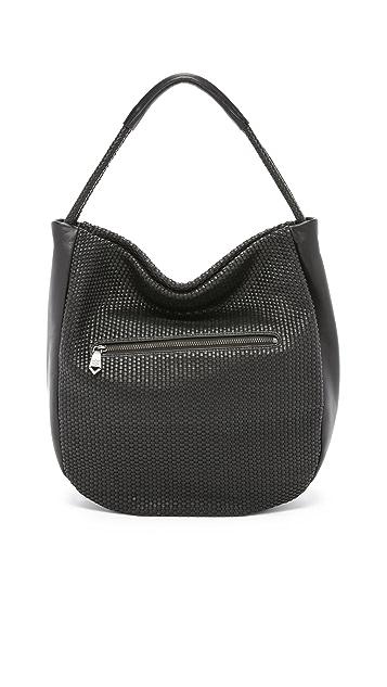 Christopher Kon Micro Weave Hobo Bag