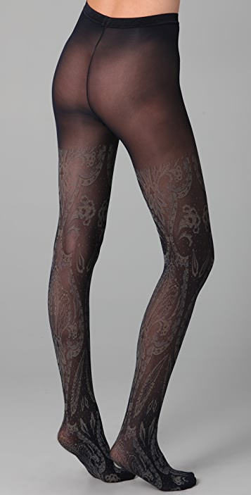 Chloe Sevigny for Opening Ceremony Patterned Tights