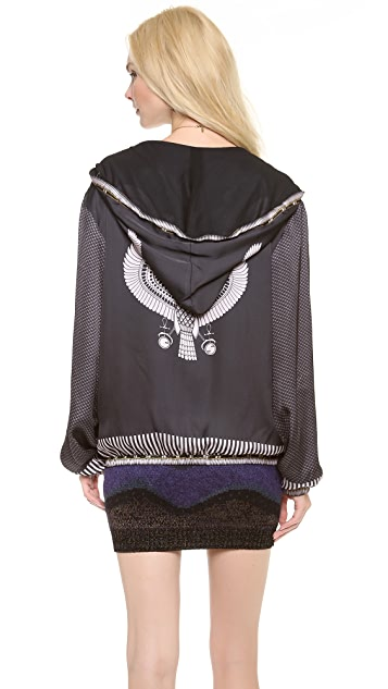 Chloe Sevigny for Opening Ceremony Hawk Zip Up Hoodie