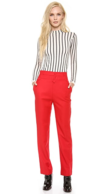 Chloe Sevigny for Opening Ceremony Sailor Front Trousers