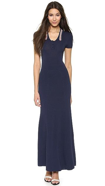 212542fc3a9 Chloe Sevigny for Opening Ceremony Westerberg Polo Maxi Dress