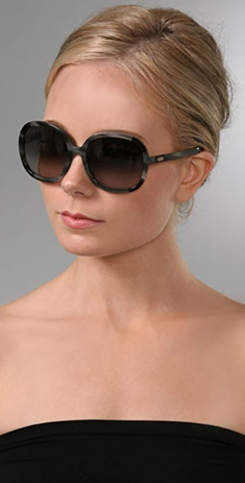 Chloe Abelie Rounded Sunglasses
