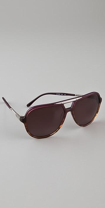 Chloe Adonis Aviator Sunglasses