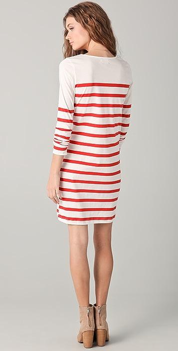 Chinti and Parker Stripe Dress