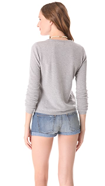 Chinti and Parker Cashmere Love Heart Sweater