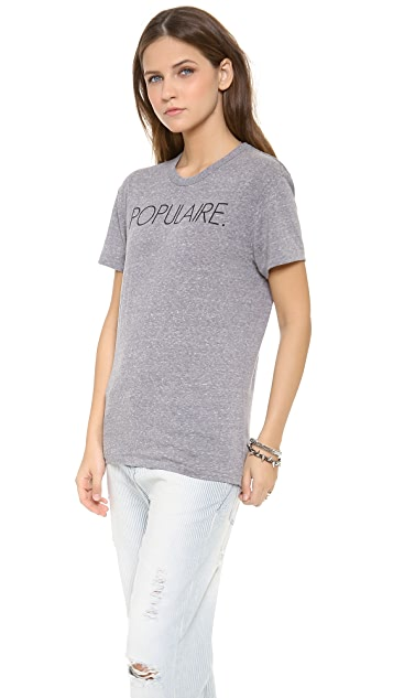 CHRLDR Populaire Tee