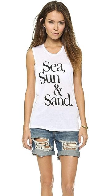 CHRLDR Sea, Sun & Sand Tank