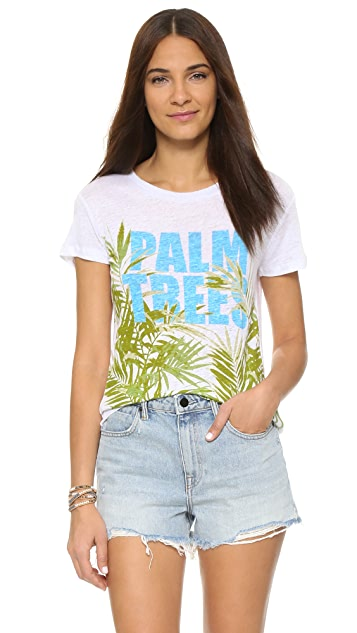 CHRLDR Palm Trees Tee