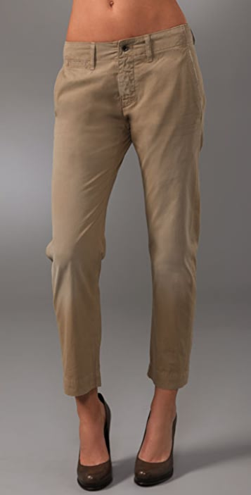 Citizens of Humanity Pearl Harbor Cropped Chinos