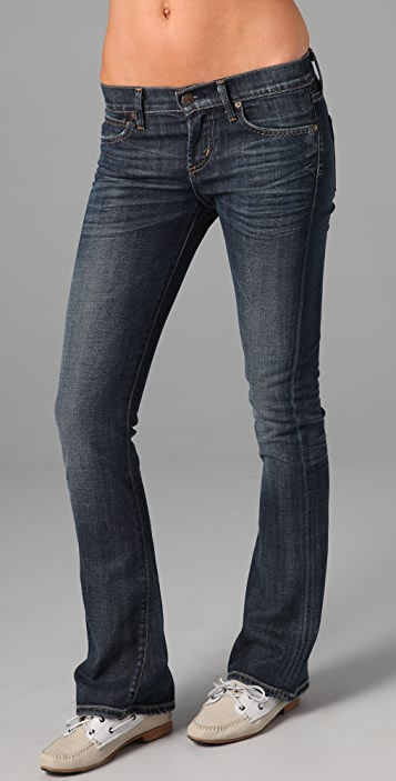 Citizens of Humanity Morrison Petite Slim Boot Cut Jeans