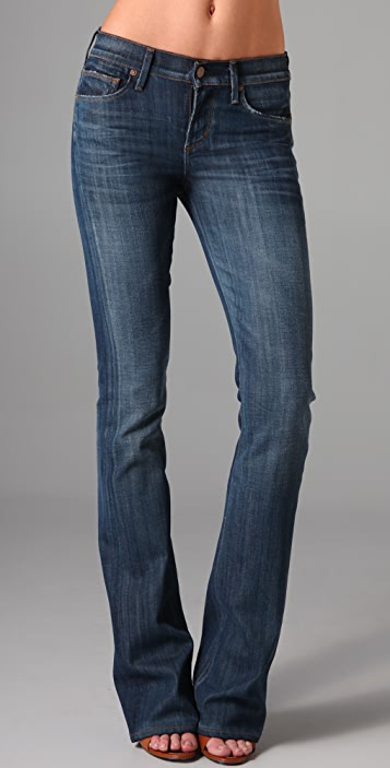 Citizens of Humanity Amber Mid Rise Boot Cut Jeans
