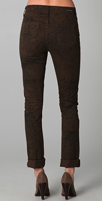 Citizens of Humanity Mandy Snake Print Skinny Jeans