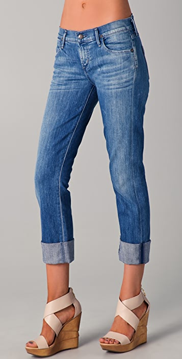 Citizens Of Humanity cropped straight jeans Buy Cheap Footlocker Finishline Clearance Eastbay R678OtSK