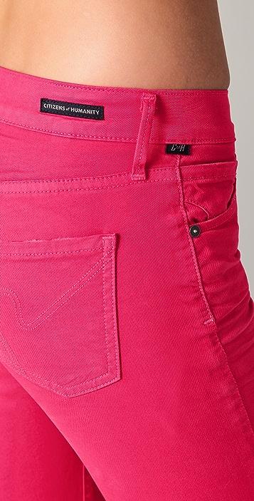 Citizens of Humanity Thompson Medium Rise Skinny Jeans