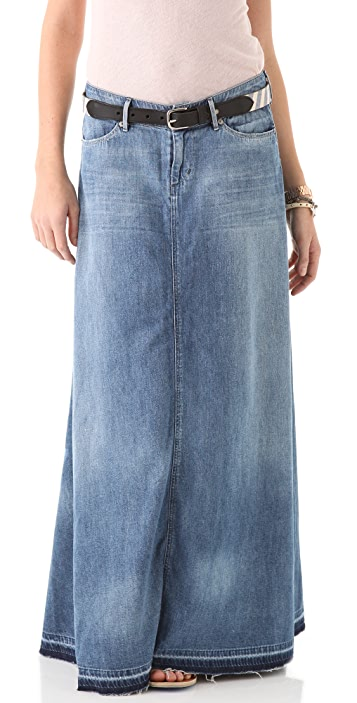 f7845d3ad4 Citizens of Humanity Anja Long Skirt | SHOPBOP